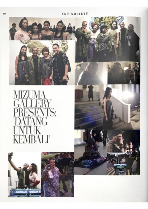 Mizuma Gallery Presents 'Datang Untuk Kembali' | Art Republik