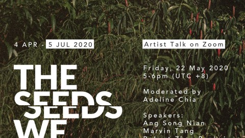 The Seeds We Sow | Online Artist Talk & Extension of Exhibition