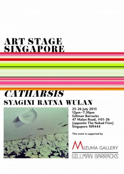 'Catharsis': An artwork presentation by Syagini Ratna Wulan