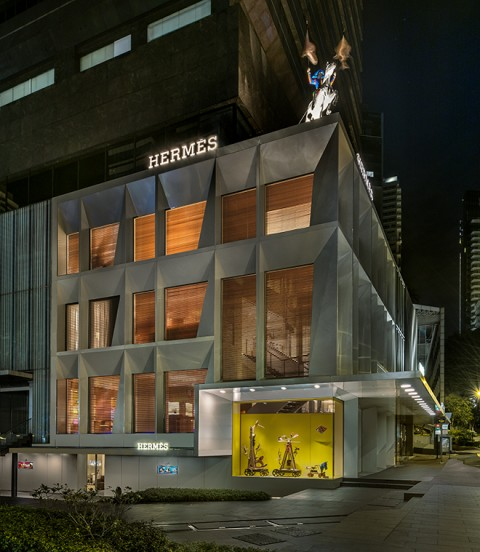 The Joybringer, a New Window Installation at Hermès Liat Towers in Singapore | SENATUS