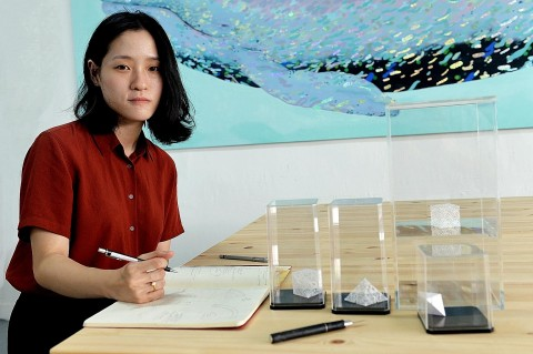 Singaporean's paper works shortlisted for Loewe Craft Prize | The Straits Times