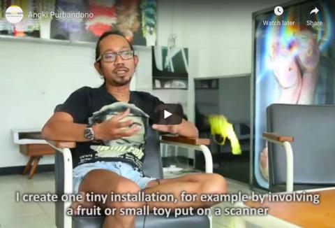 A Video Profile of Indonesian Contemporary Artist: Angki Purbandono | IndoArtNow