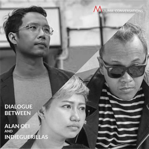 Mizuma Conversations | Dialogue between Alan Oei and indieguerillas