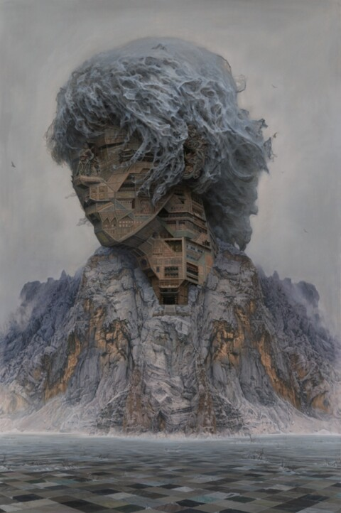 "DU Kun ""Revels of the Rock Gods"" | Juxtapoz"